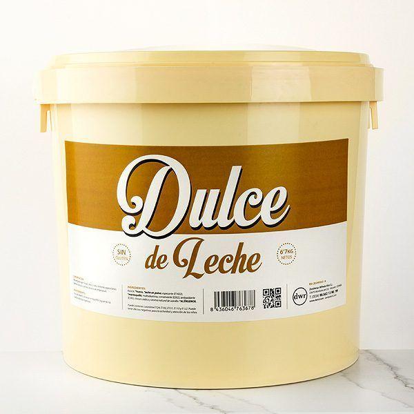 Dulce de leche cubo de 6,7kg comprar online en tartaletas pastry chef