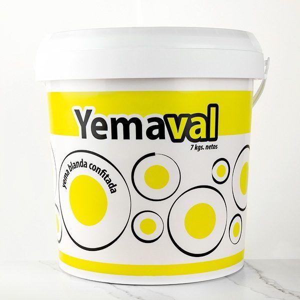 yema blanda confitada yemaval de 7kg comprar online en tartaletas pastry chef