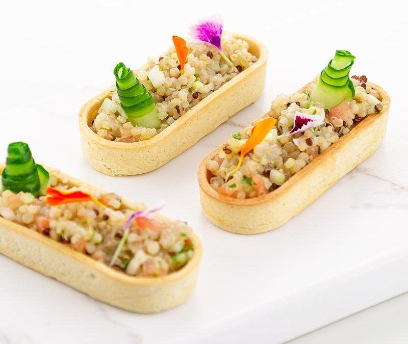 Tartaleta con Tabulé de Quinoa