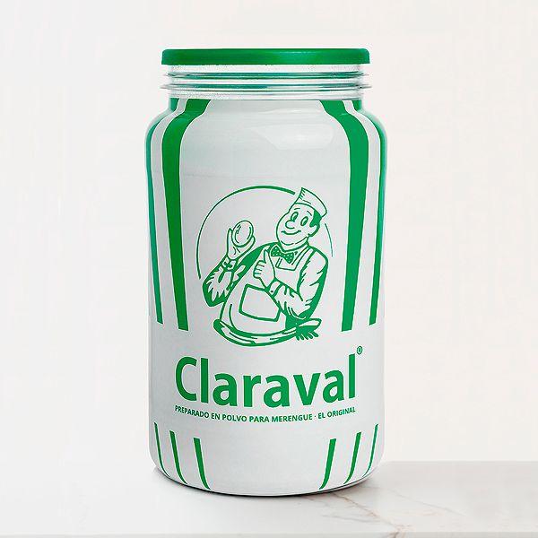 Claraval merengue en polvo sin aditivos bote 1 kilo ideal para preparar merengue casero italiano