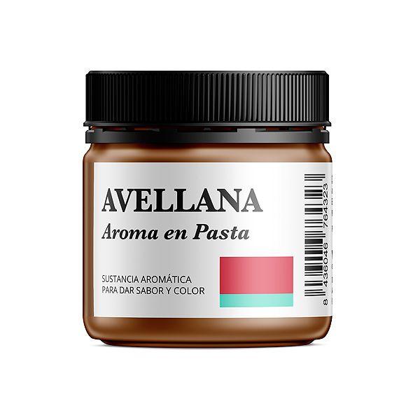 Aroma alimentario de avellana en pasta natural