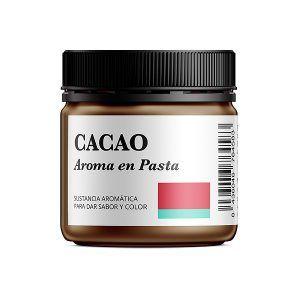 Aroma alimentario de cacao en pasta natural