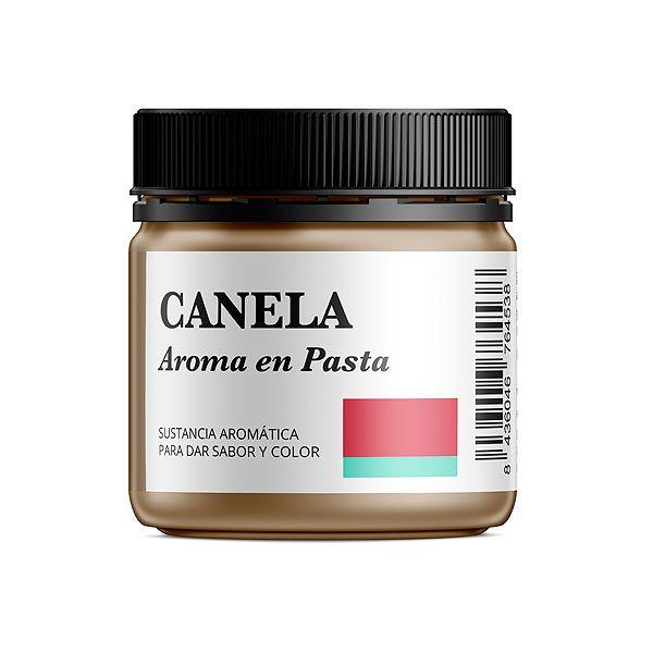 Aroma alimentario de canela en pasta natural