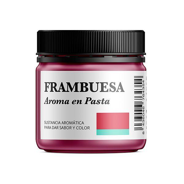 Aroma alimentario de frambuesa en pasta natural