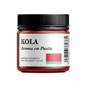 Aroma alimentario de cola en pasta natural