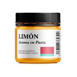 Aroma alimentario de limón en pasta natural