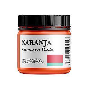 Aroma alimentario de naranja en pasta natural