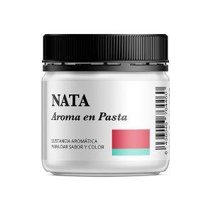 Aroma alimentario de nata en pasta natural