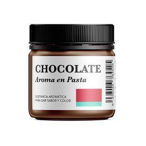 Aroma alimentario de chocolate en pasta natural