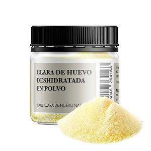 Bote 100 gramos clara de huevo deshidratada en polvo 100% natural