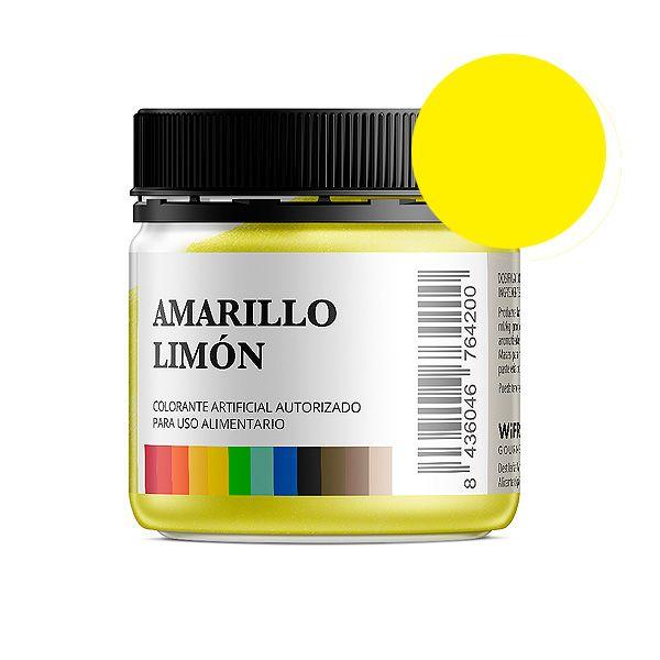Colorante alimentario amarillo limón en polvo bote 50 gramos