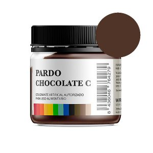 Colorante alimentario pardo chocolate c en polvo bote 50 gramos