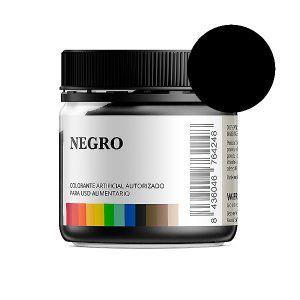 Colorante alimentario negro en polvo bote 50 gramos