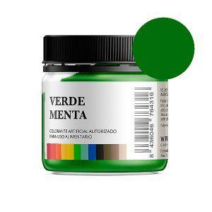 Colorante alimentario verde menta en polvo bote 50 gramos