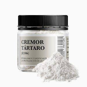 Cremor Tartaro en bote de 100 gramos evita la cristalización de la sacarosa