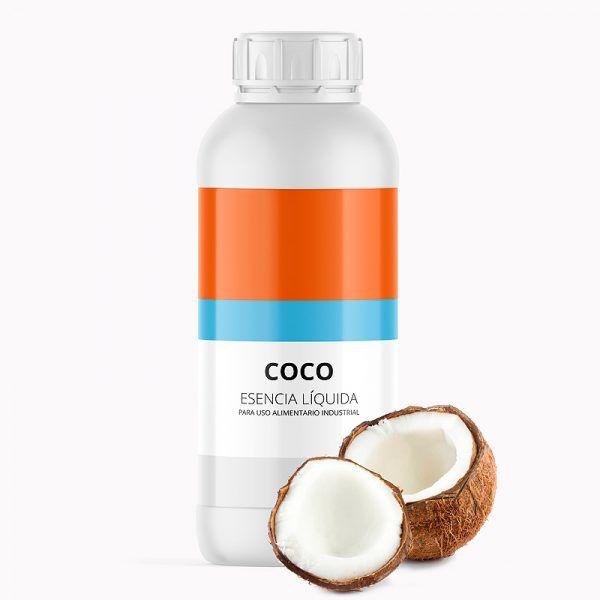 Venta de esencias alimentarias líquidas de sabor coco