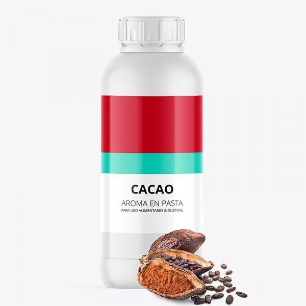 Aroma alimentario cacao en pasta bote de 1 kilo