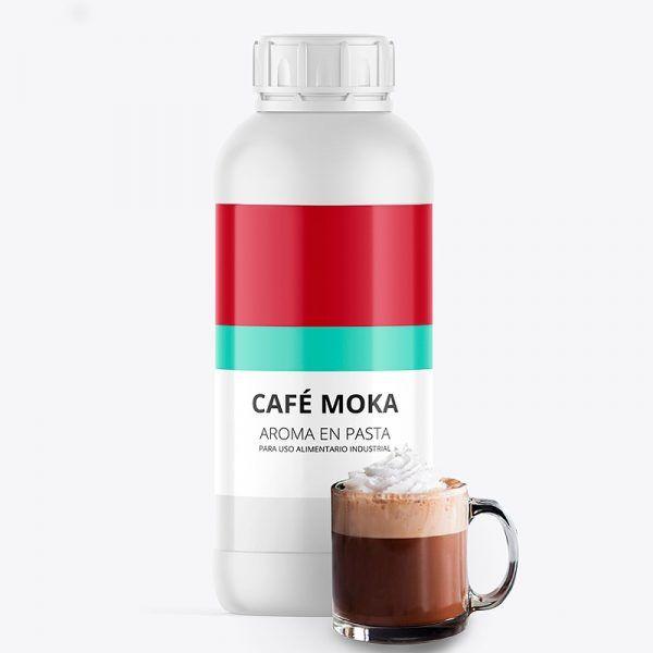 Aroma alimentario cafe moka en pasta bote de 1 kilo