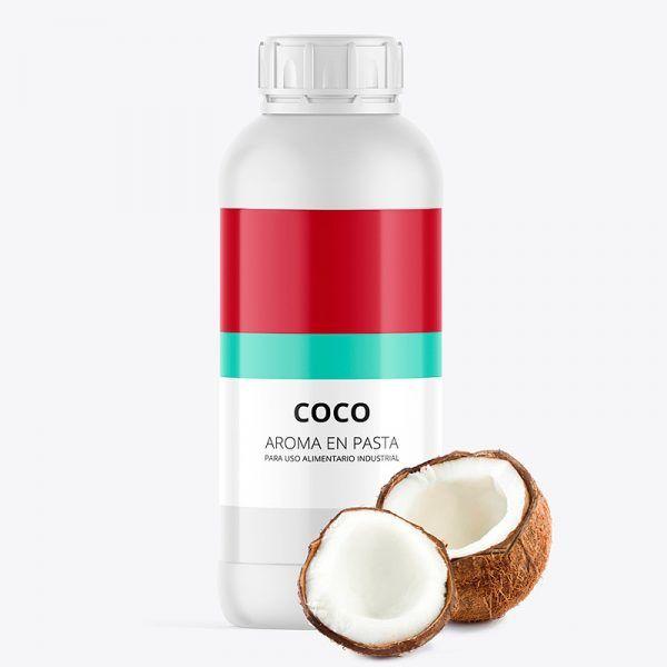 Aroma alimentario coco en pasta bote de 1 kilo