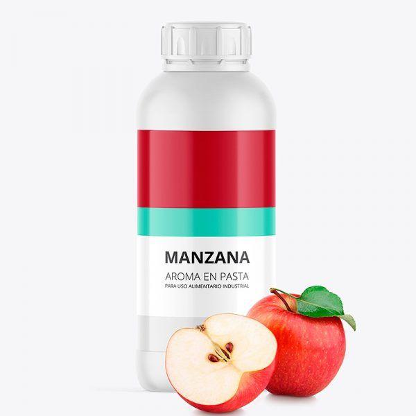 Aroma alimentario manzana en pasta bote de 1 kilo