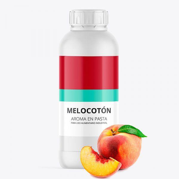 Aroma alimentario melocotón en pasta bote de 1 kilo