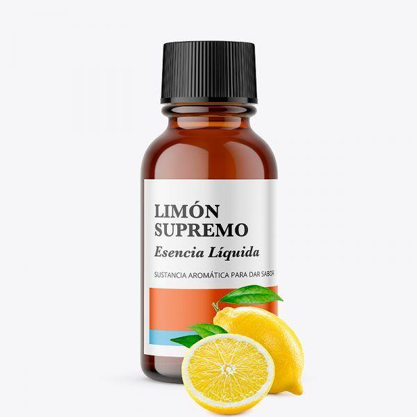 Esencias alimentarias liquidas y aromas de limón supremo naturales para dar sabor venta online